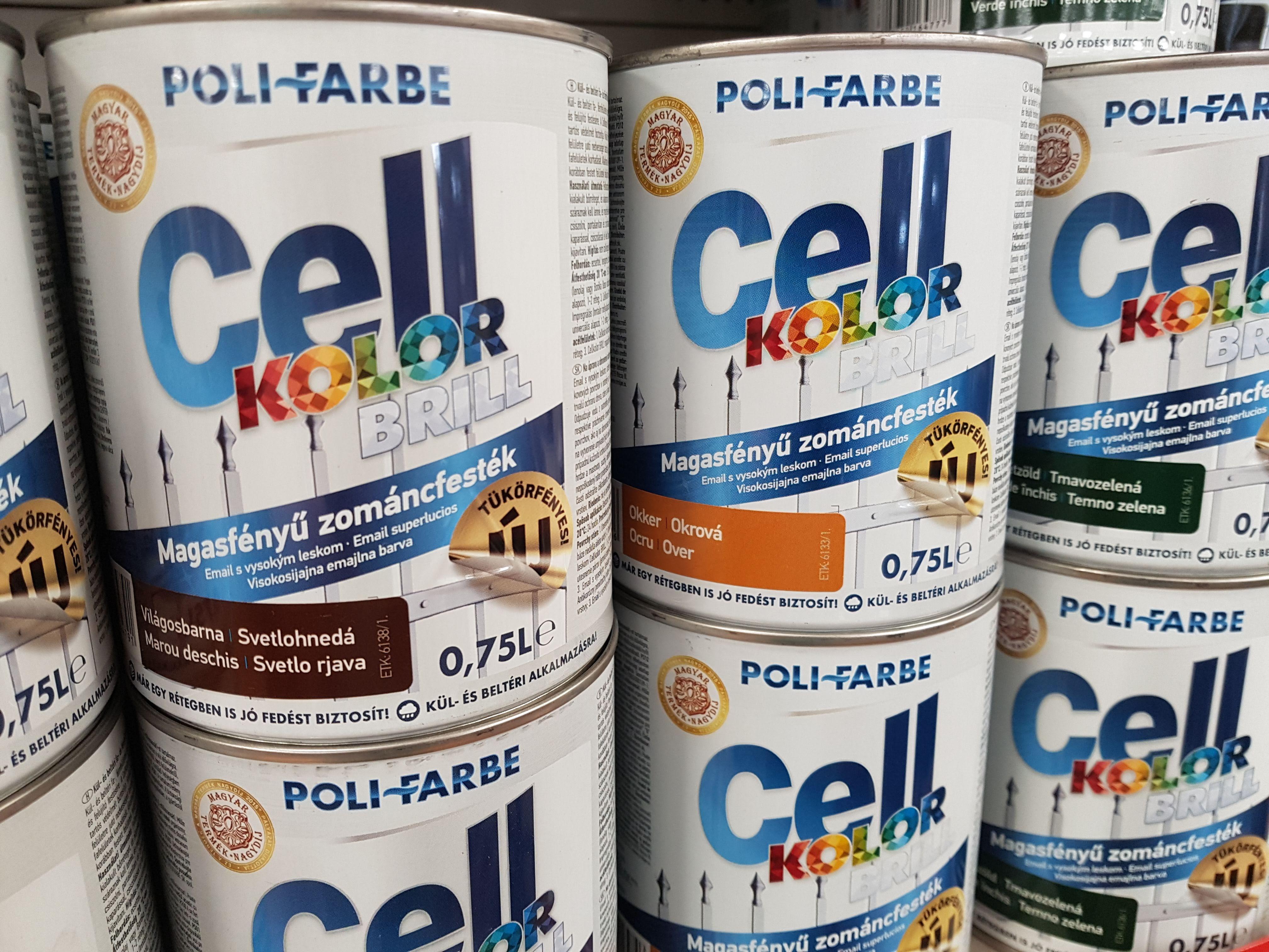 POLI-FARBE Cellkolor BRILL: a sokoldalú segítőtárs