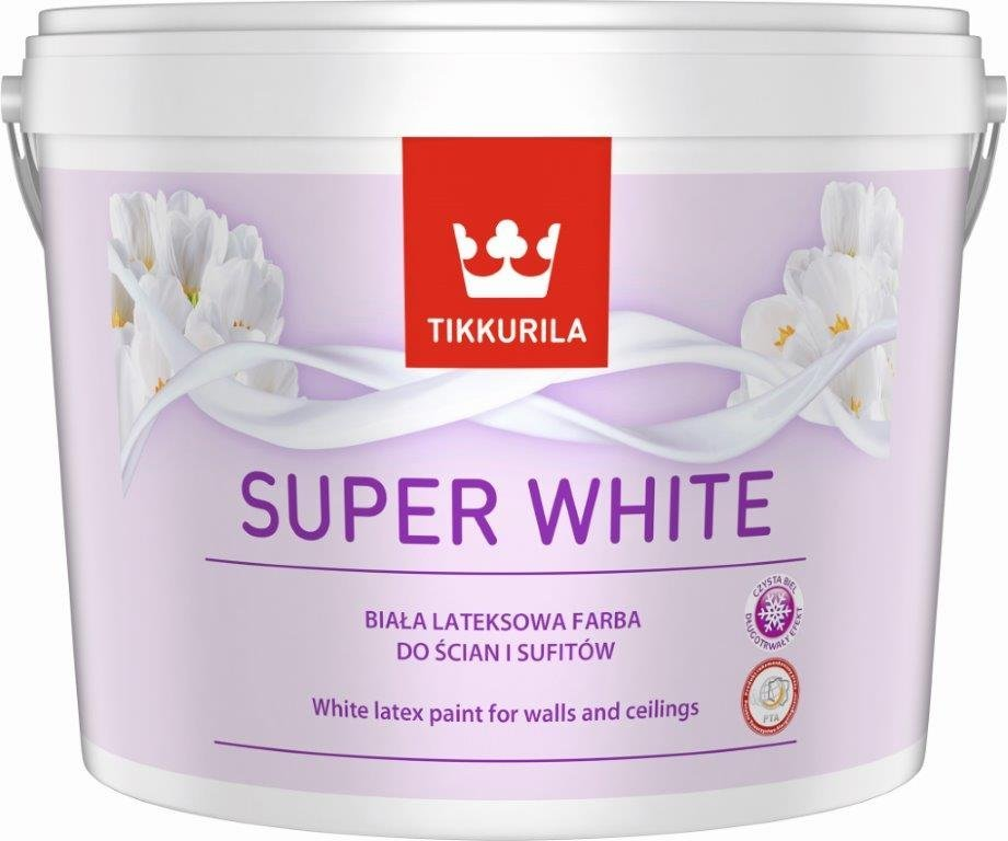 Tikkurila super white matt latex festék