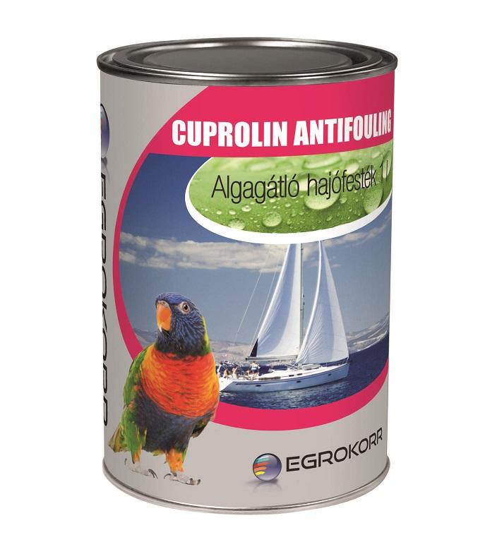 Cuprolin algagátló hajófesték