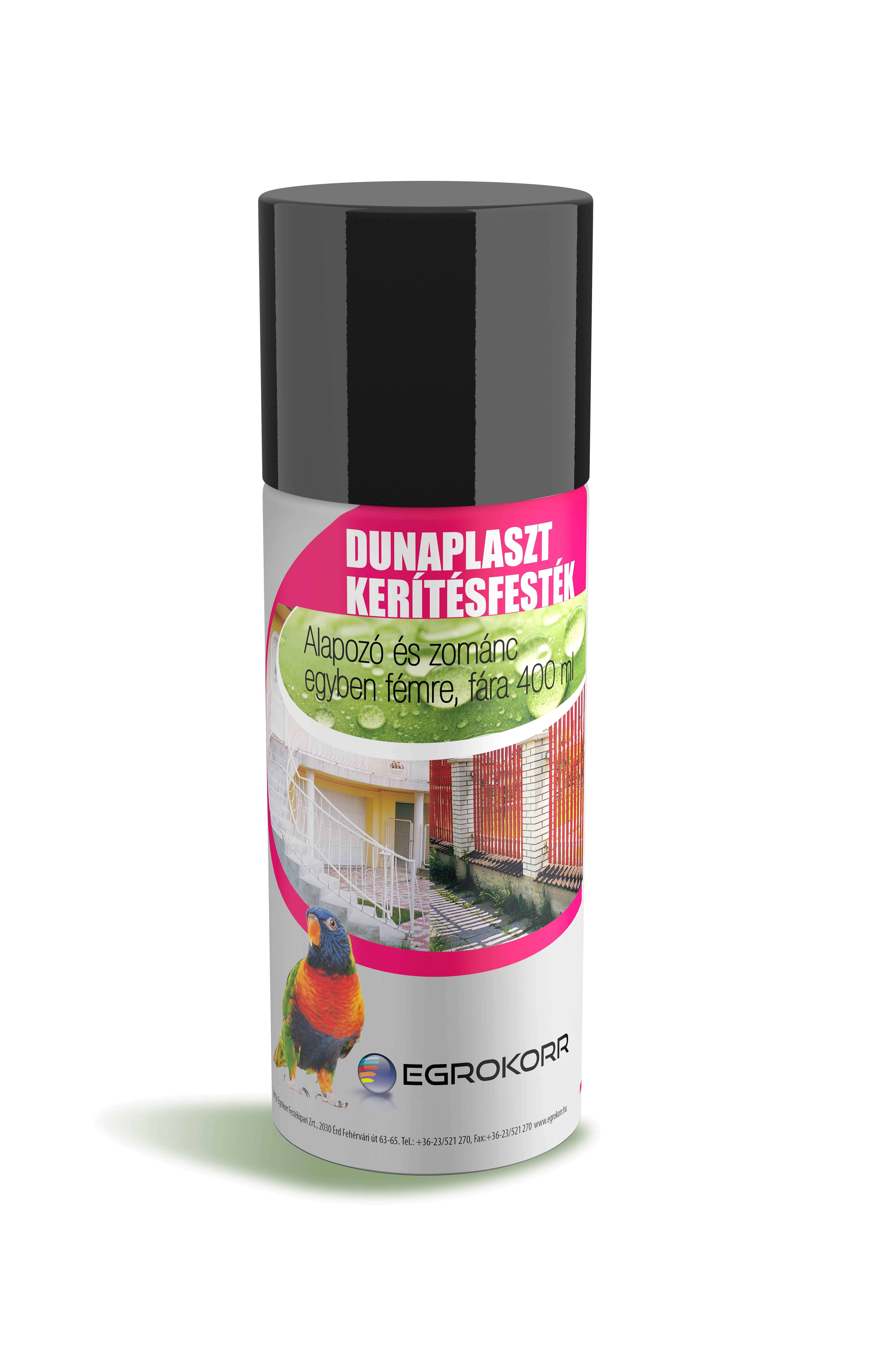 Dunaplaszt kerítésfesték aeroszol
