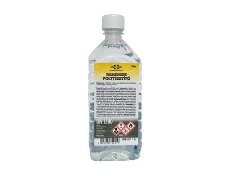 Benzines folttisztító