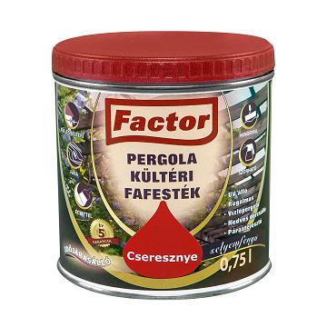 Factor pergola kültéri fafesték
