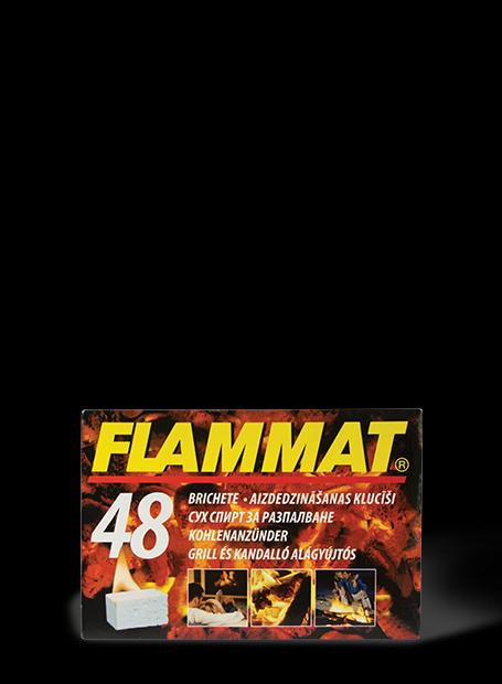 Flammat grill és kandalló alágyújtós