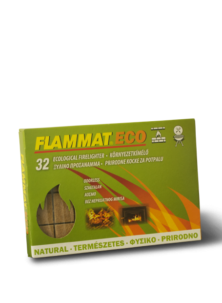 Flammat grill és kandalló alágyújtós eco