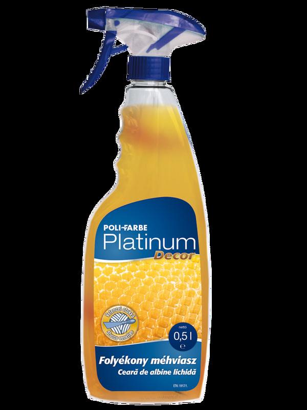 Platinum decor folyékony méhviasz