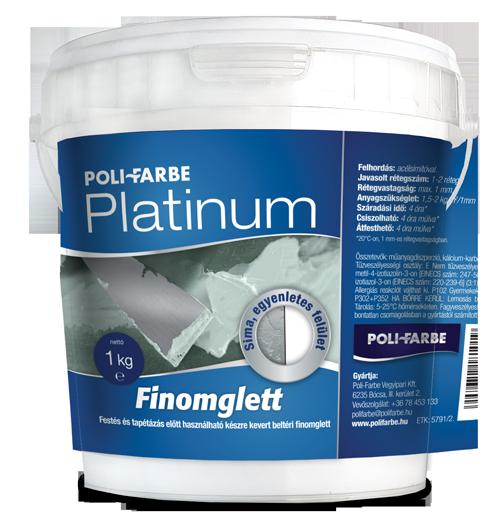 Platinum finomglett