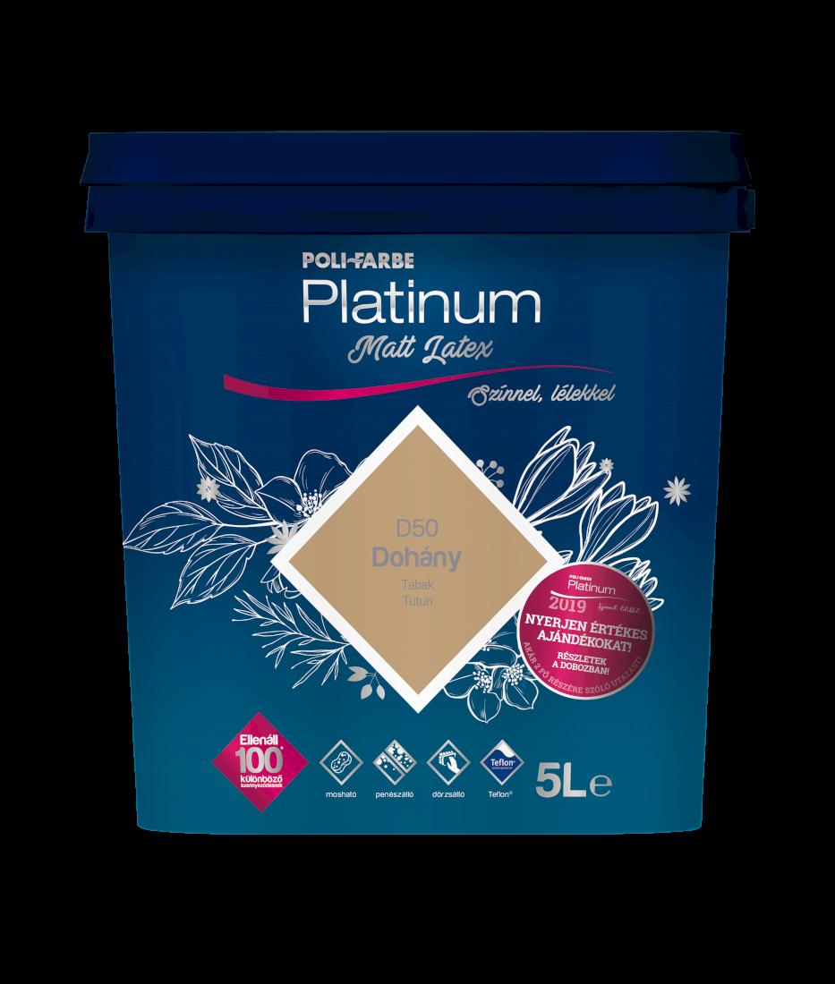 Platinum matt latex falfesték