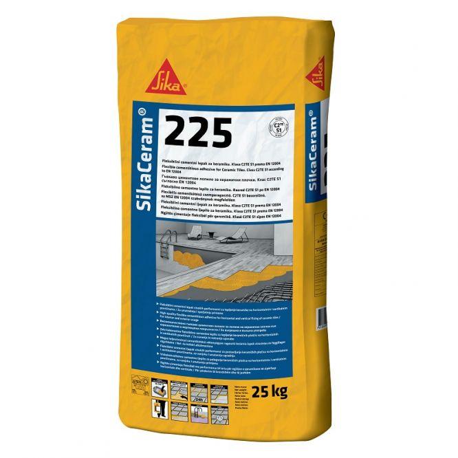 Sika Ceram-225 (C2TES1) flexibilis cs. ragasztó