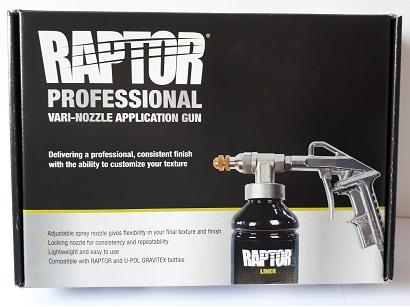U-Pol Raptor Rücsi pisztoly Vari-Nozzle