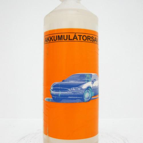 Akkumulátor sav