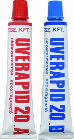 Uverapid két komponensű ragasztó